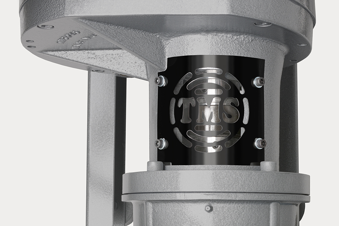 TMS RL1000 Rotating Lobe Booster Pump, All Parts Made in USA